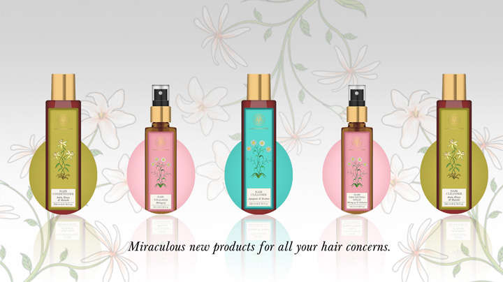Forest Essentials Hair Cleanser - Bhringraj & Shikakai- Best Shampoo