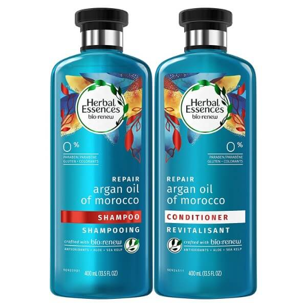 Herbal Essences Argan Oil Shampoo For Frizz - No Colourants