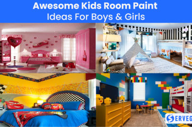 Awesome Kids Room Paint Ideas For Boys & Girls
