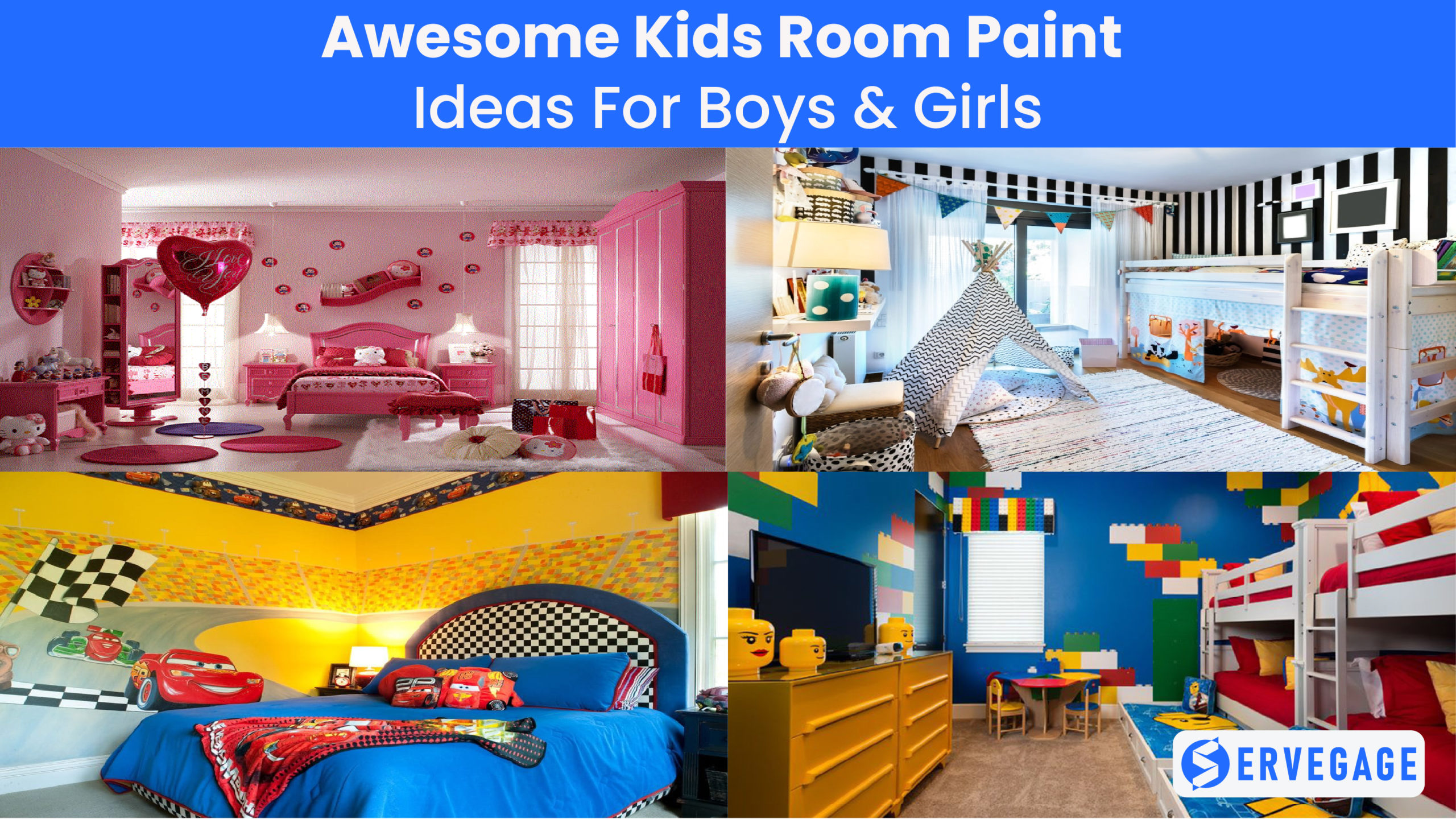 7 Kids Room Paint Ideas