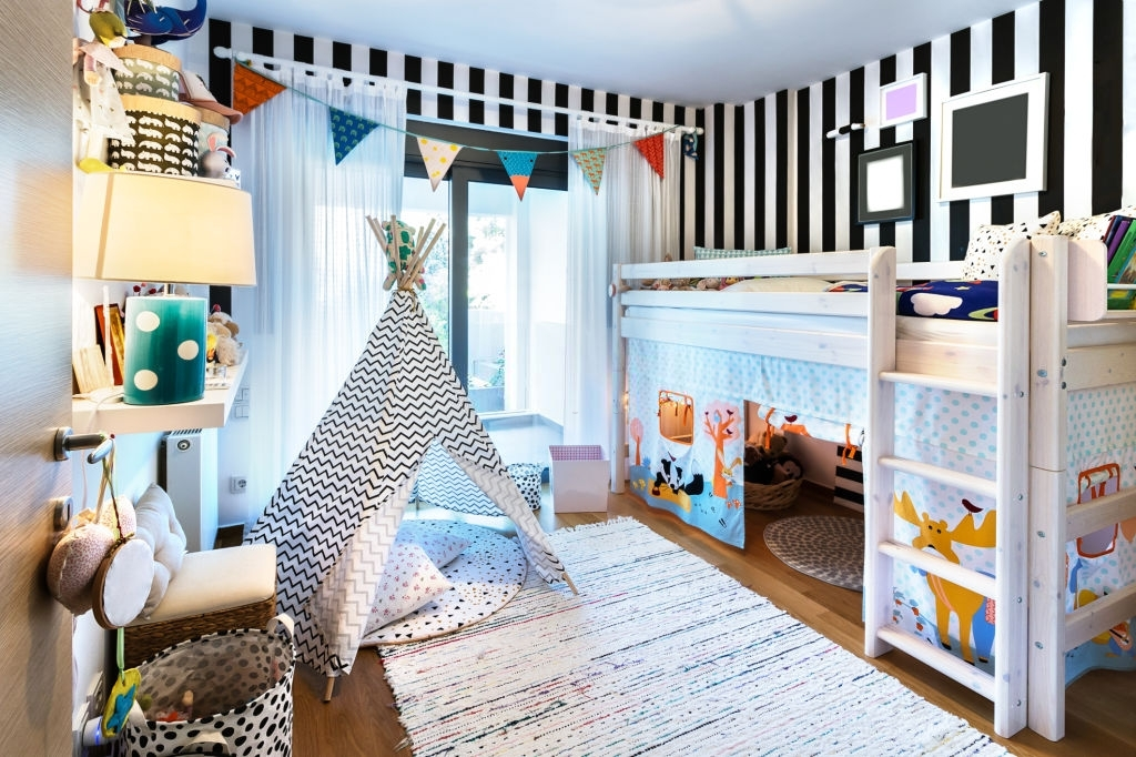 Colorful Kids Room Paint Ideas