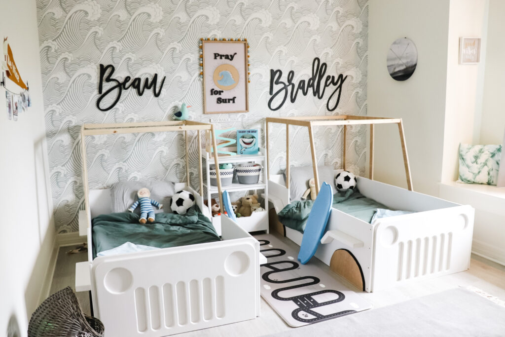 Names or Initials On The Accent Walls