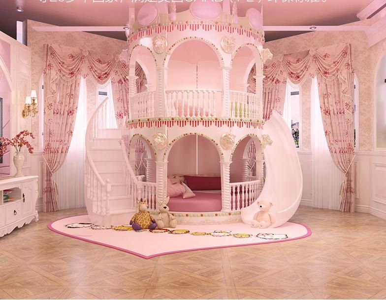 Princess castle theme for kids