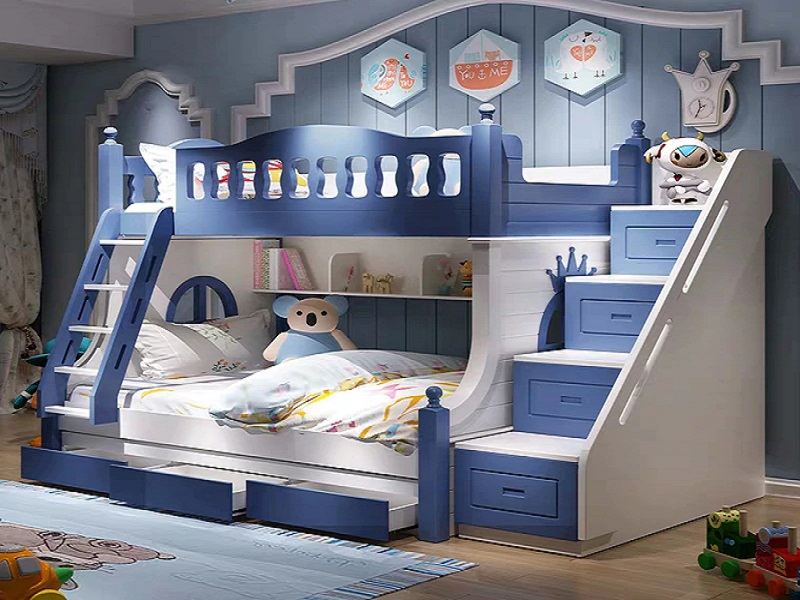 Bunk Bed for Twins Room Idea