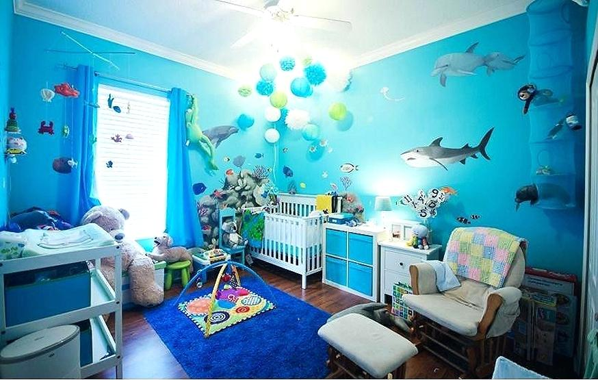 Under the sea theme for kids room
