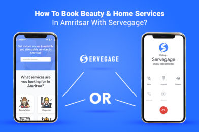 How To Book Beauty & Home Services In Amritsar With Servegage?